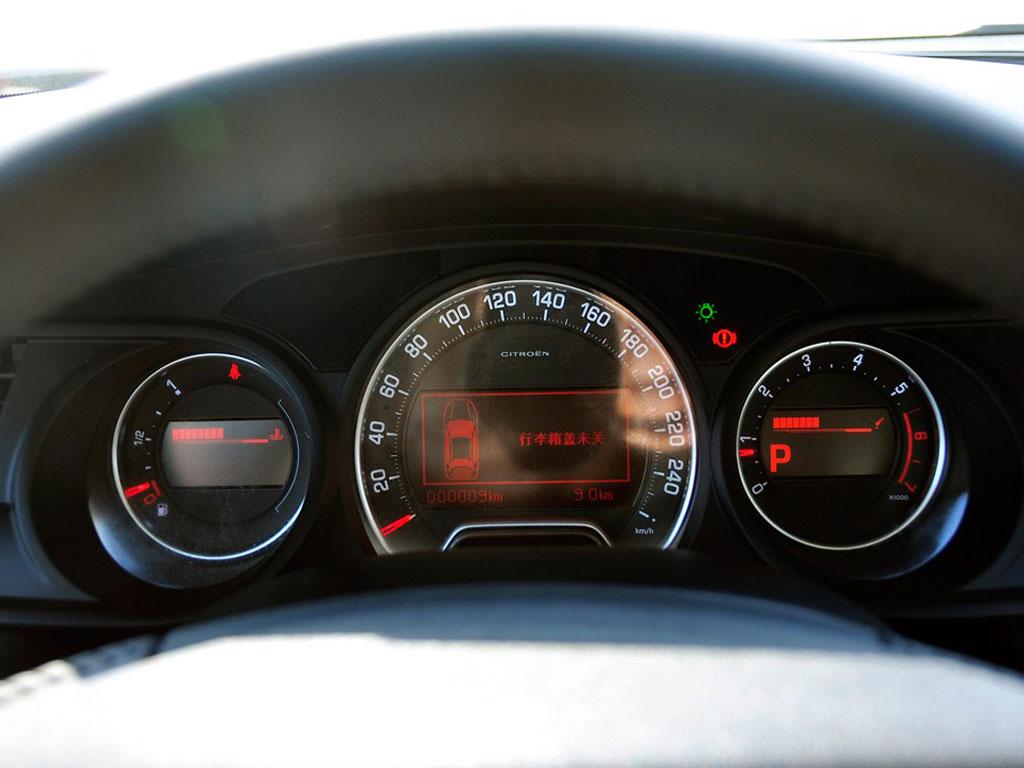 雪铁龙c5 2013款 2.0l 自动尊享型内饰图片 – 车主之