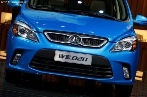 北京汽车绅宝D20降价1.4万 现车售全国高清图片