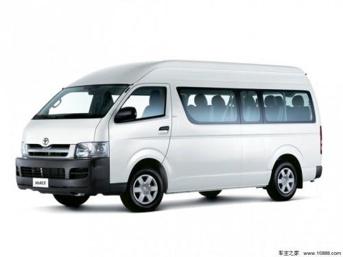 上海平行進口豐田海獅面包車報價34萬起 直降28.2萬