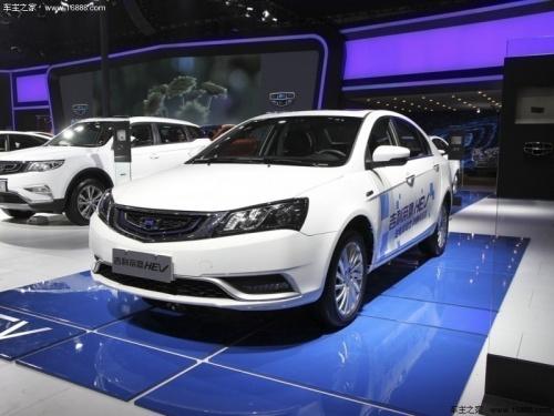 深圳吉利帝豪新能源最新行情 售价17万元起高清图片
