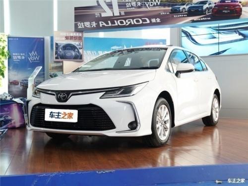 天津丰田卡罗拉最新报价12万起 直降2万