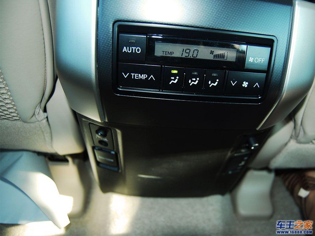 普拉多后排空调系统