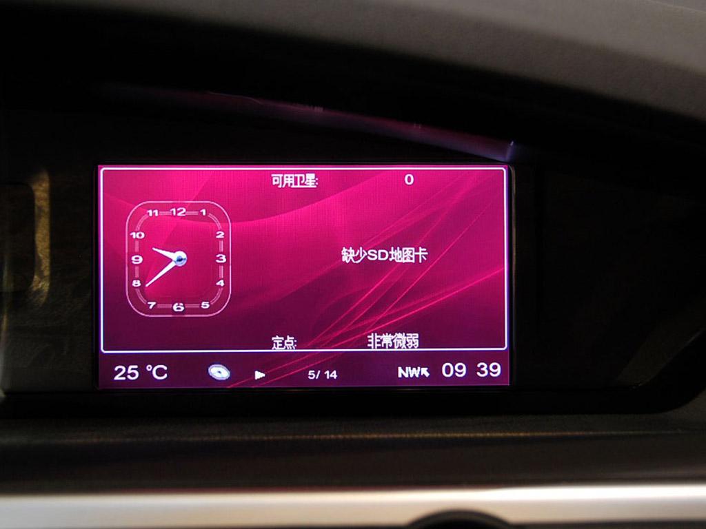 荣威550黑色荣威550导航显示屏高清图片