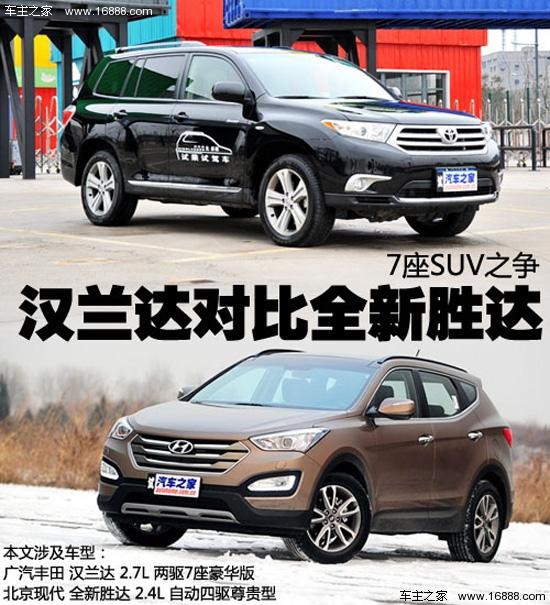 不过随着北京现代全新胜达的推出,这一局面可能会被打破,它与汉兰达