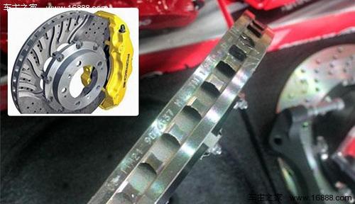 与鼓式刹车相比较下,盘式刹车的构造简单