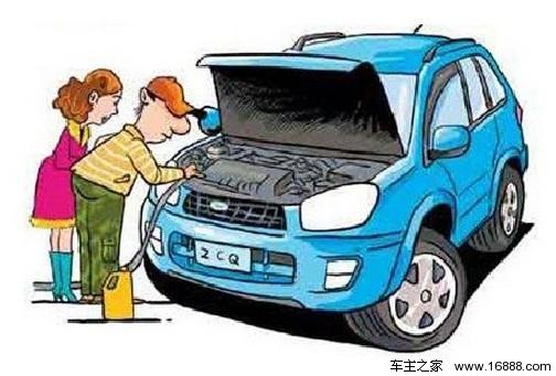 电喷汽车发动机故障怎么办 三招巧修故障高清图片