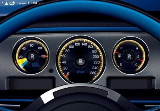 劳斯莱斯幻影敞篷典藏版官图 搭V12发动机高清图片