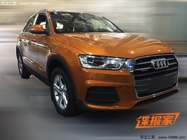 国产新款奥迪Q3实车首曝 有望年内首发高清图片