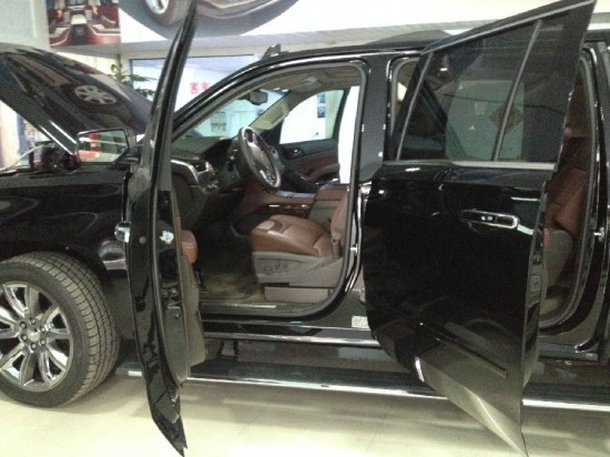 美国原装进口雪佛兰大的SUV上海雪佛兰4S店高清图片