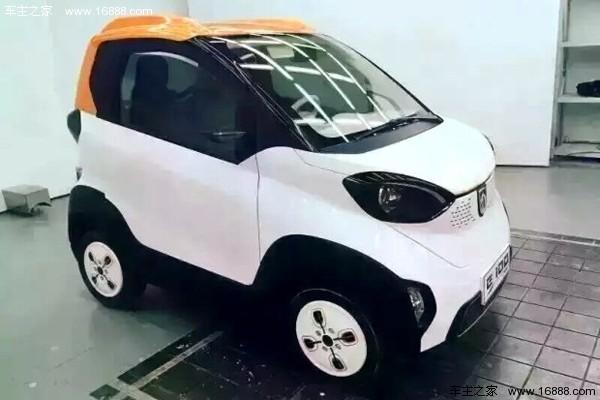 10月上市 曝宝骏E100纯电动实车图高清图片