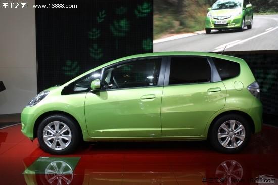 据路透社报道,本田将会在日本?-飞度油电混合动力车亮相高清图片