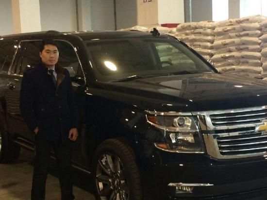新16款雪佛兰SUV美国全尺寸越野上海店现车高清图片