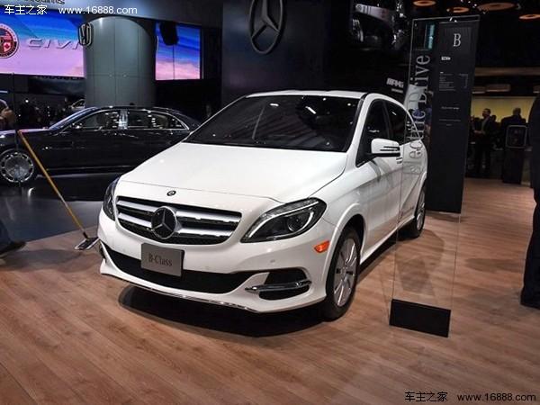 奔驰新电动车子品牌将推出 首批计划4款新车
