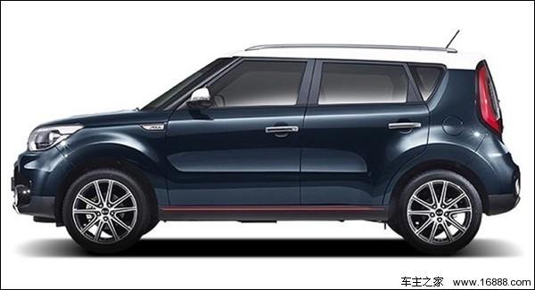 小型SUV起亚新款Soul正式发布 搭载1.6发动机高清图片