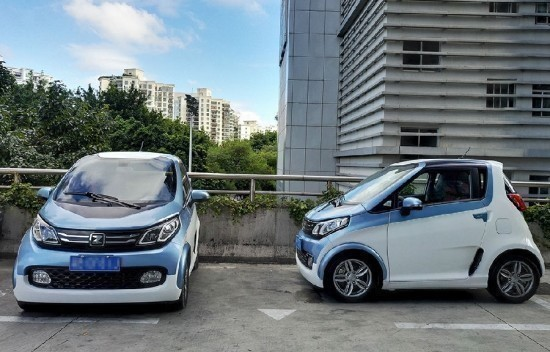 新能源纯电动汽车众泰e200用品质为自己代言