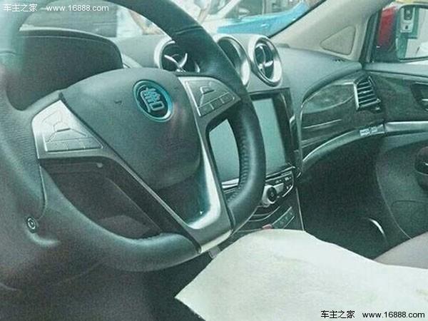 比亚迪唐100将推7座版车型 2017年一季度上市