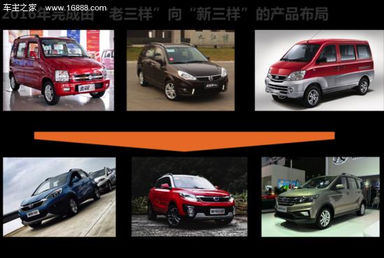 对于自主品牌汽车企业来说,刚过去的2016年是难忘的一年。这一年,我国汽车产销双超2800万辆,总量再创历史新高;乘用车产销实现较高增长,自主品牌乘用车年销量首次突破1000万辆的事实,无疑使2016年中国汽车的成绩单更添含金量;新能源汽车更在政策驱动下增速超50%。在2016年自主品牌的销量榜上,昌河汽车的表现虽然不太引人注目,但却值得关注。 稳健布局,实现产品结构调整 在2016年之前,昌河汽车主要精力在微车领域,乘用车方面也仅有北斗星、利亚纳等两款上市多年的轿车产品。2016年,昌河汽车加快产品结构