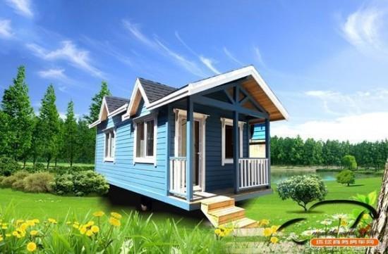 营地房车设计 小木屋房车大自然中的家