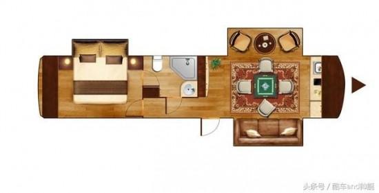 小型房车内部设计图