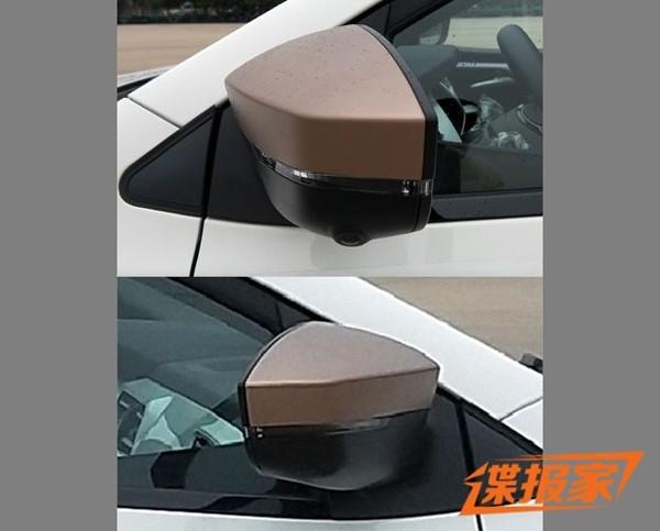 """全新品牌""""思皓"""" 江淮大众首款车型申报图曝光"""