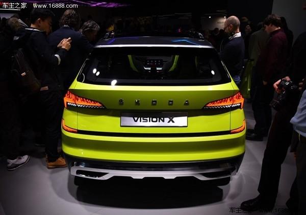 斯柯达将推全新小型SUV 定名为Kosmiq