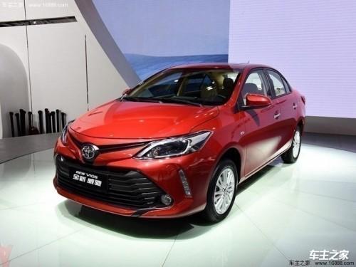 2019丰田威驰最新报价 目前优惠可达1.1万