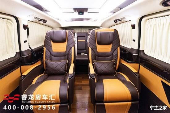 全隔断私密7座奔驰v级商务车最新报价多少钱图片