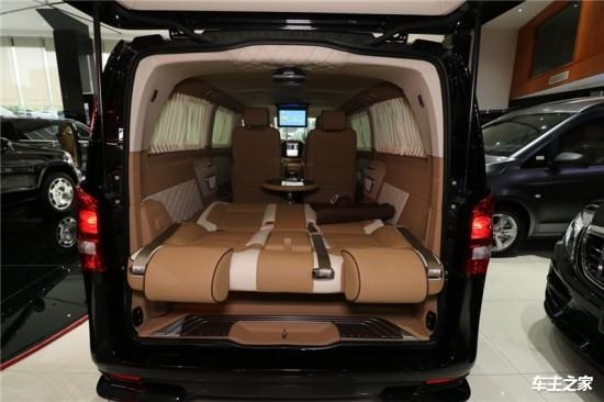 奔馳威霆房車新款改裝內飾升級報價39萬起圖片