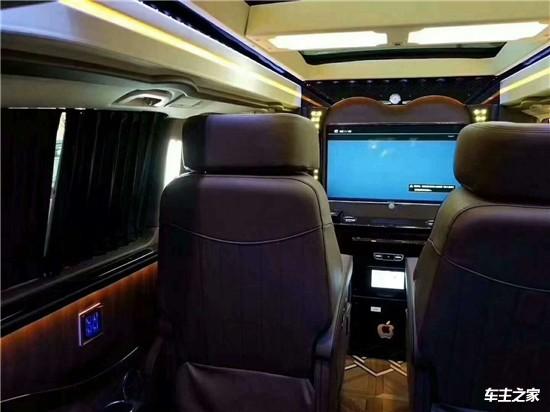 博古架隔断奔驰V260L高顶全隔断特价销售