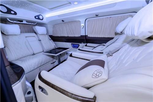 奔驰V260L改装高顶商务车高级配置绝佳享受-WeCar-买车选车养车改装车就来WeCar
