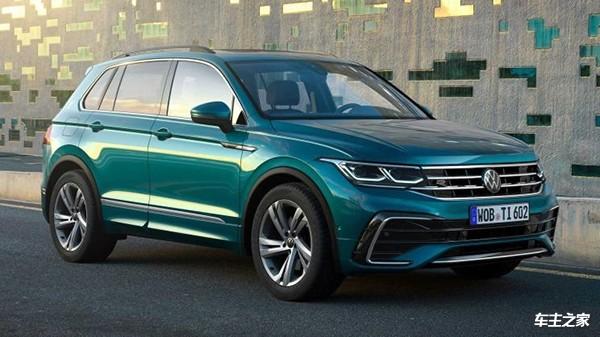 新款大众Tiguan官图发布配置升级_国内新车