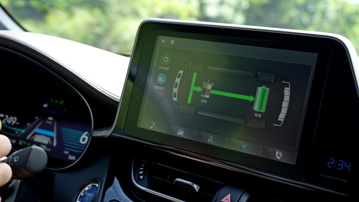 丰田C-HR EV试驾:竟给到了性能钢炮的炸裂错觉?_试驾评测 -第11张图片-汽车笔记网