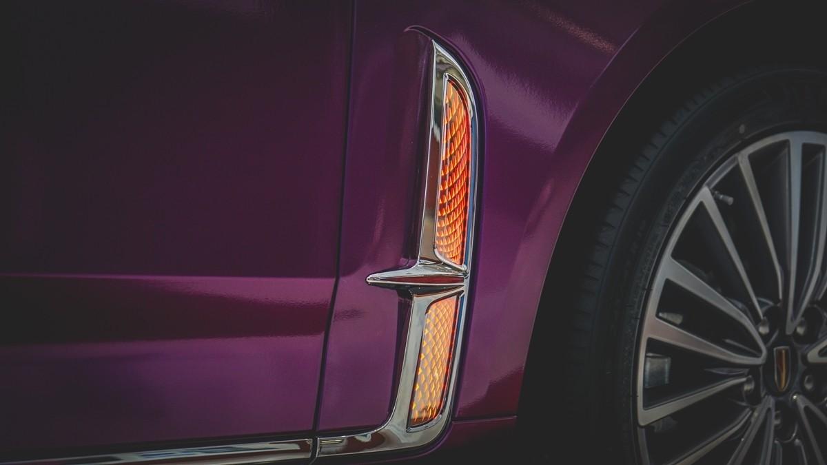 红旗H9到店实拍:气场不输奔驰S级的自主豪华轿车!_车型图解 -第9张图片-汽车笔记网