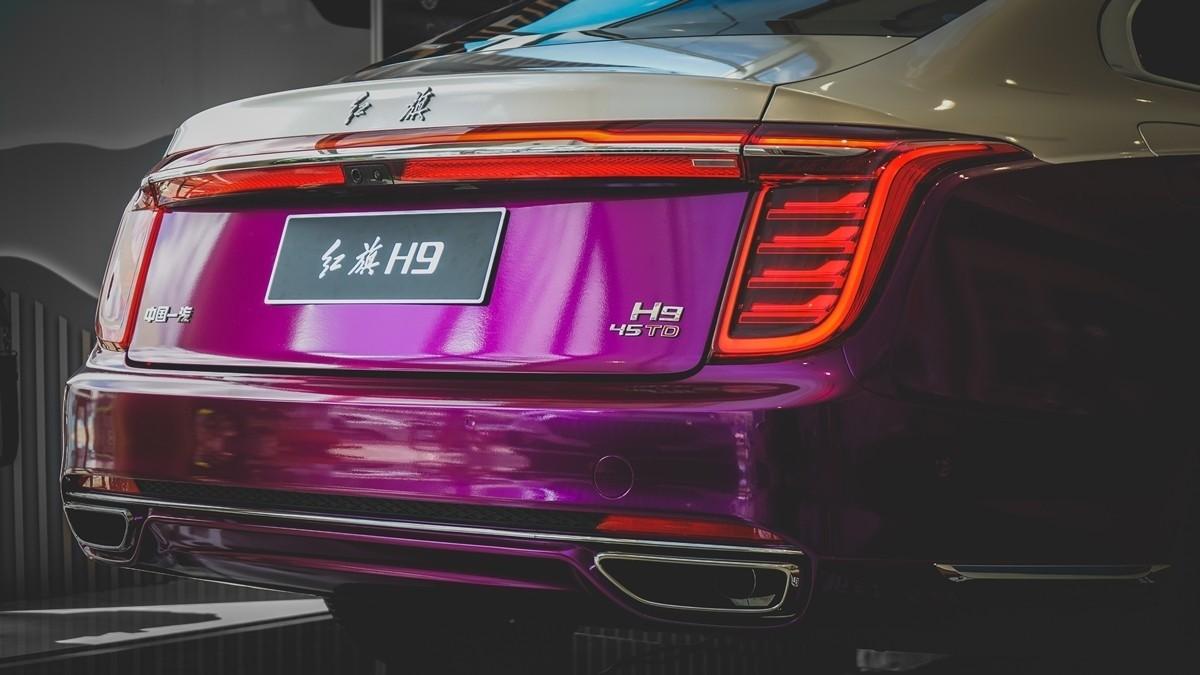 红旗H9到店实拍:气场不输奔驰S级的自主豪华轿车!_车型图解 -第14张图片-汽车笔记网
