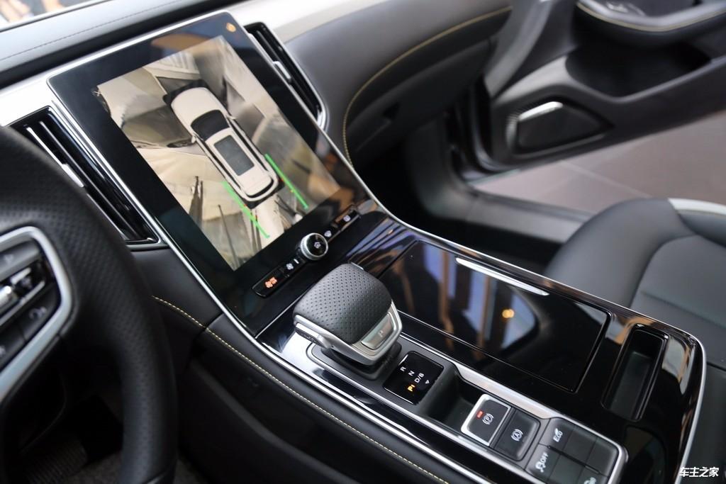 稳重的气质里藏着倔强的个性 荣威i6 MAX实拍解码_车型图解 -第14张图片-汽车笔记网