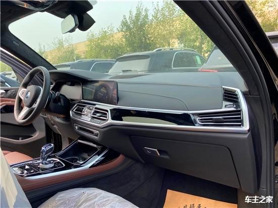 平行进口加版宝马X7现车最低价 实拍图片及配置详情