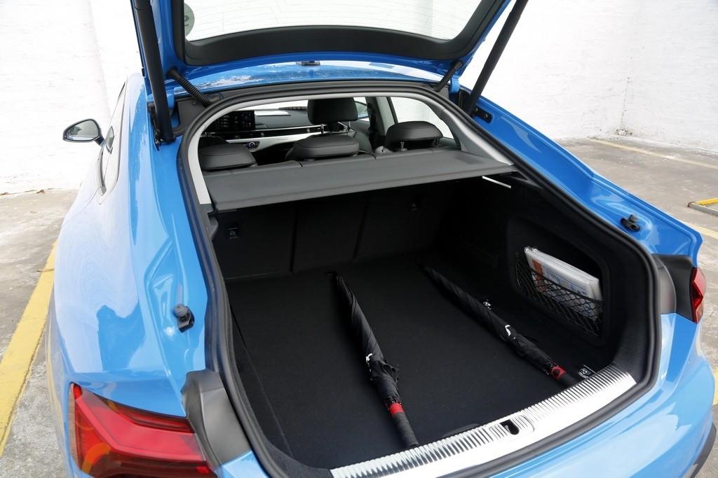 个性但不张扬  试驾新奥迪A5 Sportback_试驾评测 -第8张图片-汽车笔记网