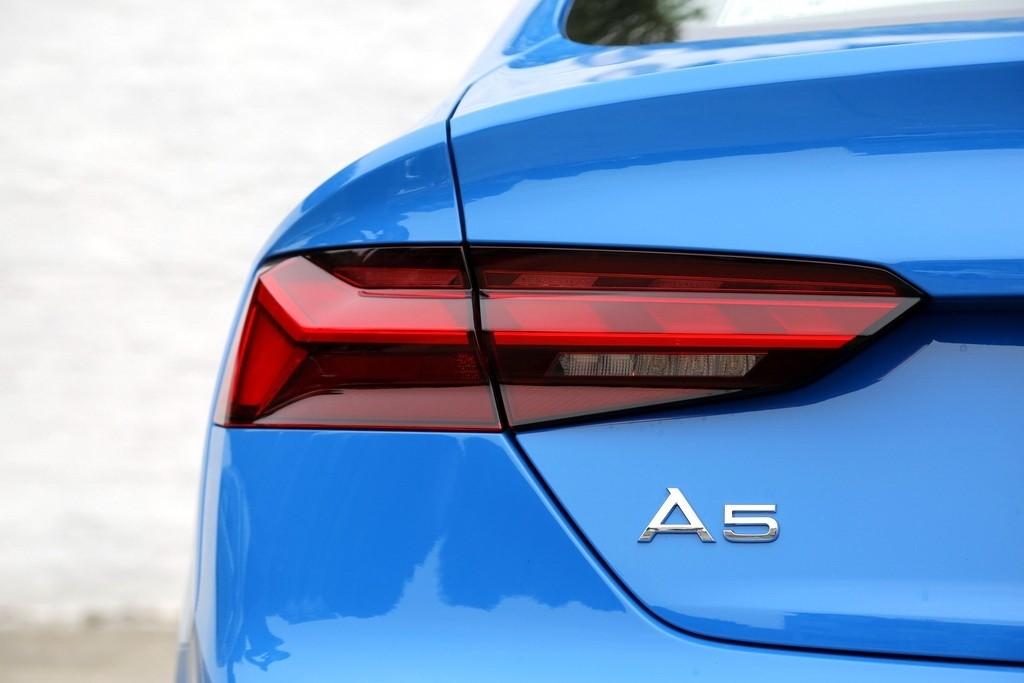 个性但不张扬  试驾新奥迪A5 Sportback_试驾评测 -第16张图片-汽车笔记网