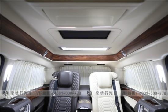 温州老板出行利器 V级奢华定制  奔驰V260改装房车价格直降20万