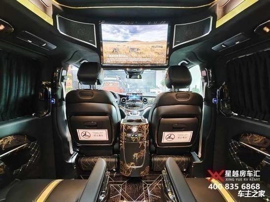 奔驰V260L商务车金提香
